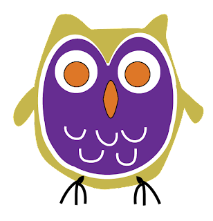 digital owl purple orange gold free download