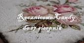 """Candy u Anny Marii z """"Mój magiczny Deoupage"""""""