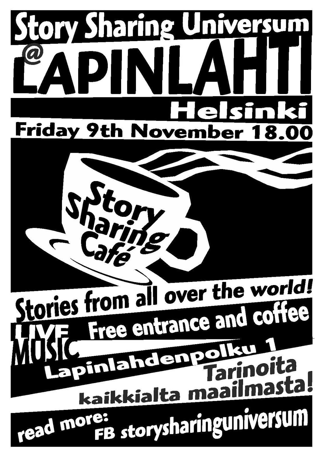 Story Sharing Café at Lapinlahti