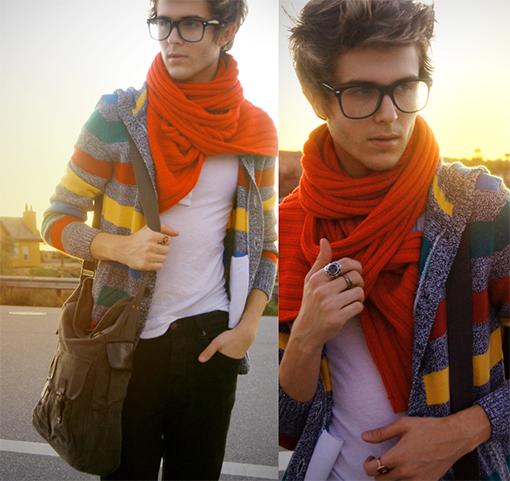 cardigans, scarfs, rainy season 2014