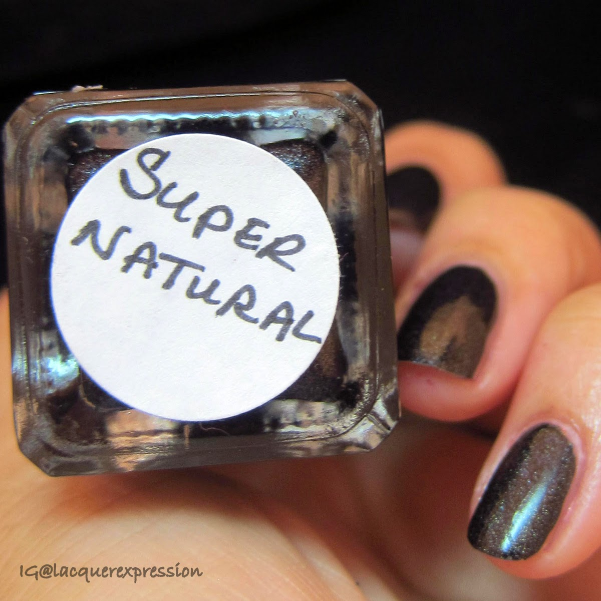 Swatch and Review of Supernatural Nail Polish by Bear Pawlish