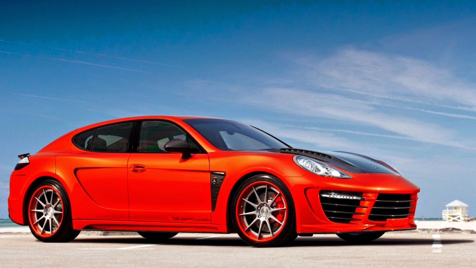 Porsche Panamera Stingray GTR Orange