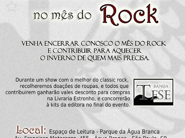 Editora Estronho: Livros & Cidadania no Mês do Rock