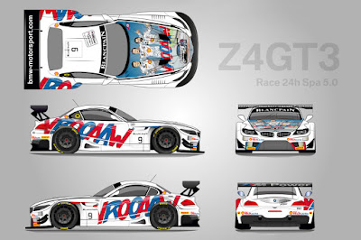 BMW Z4 GT3 2015 #9 (Rendering) Michel Vaillant Livery