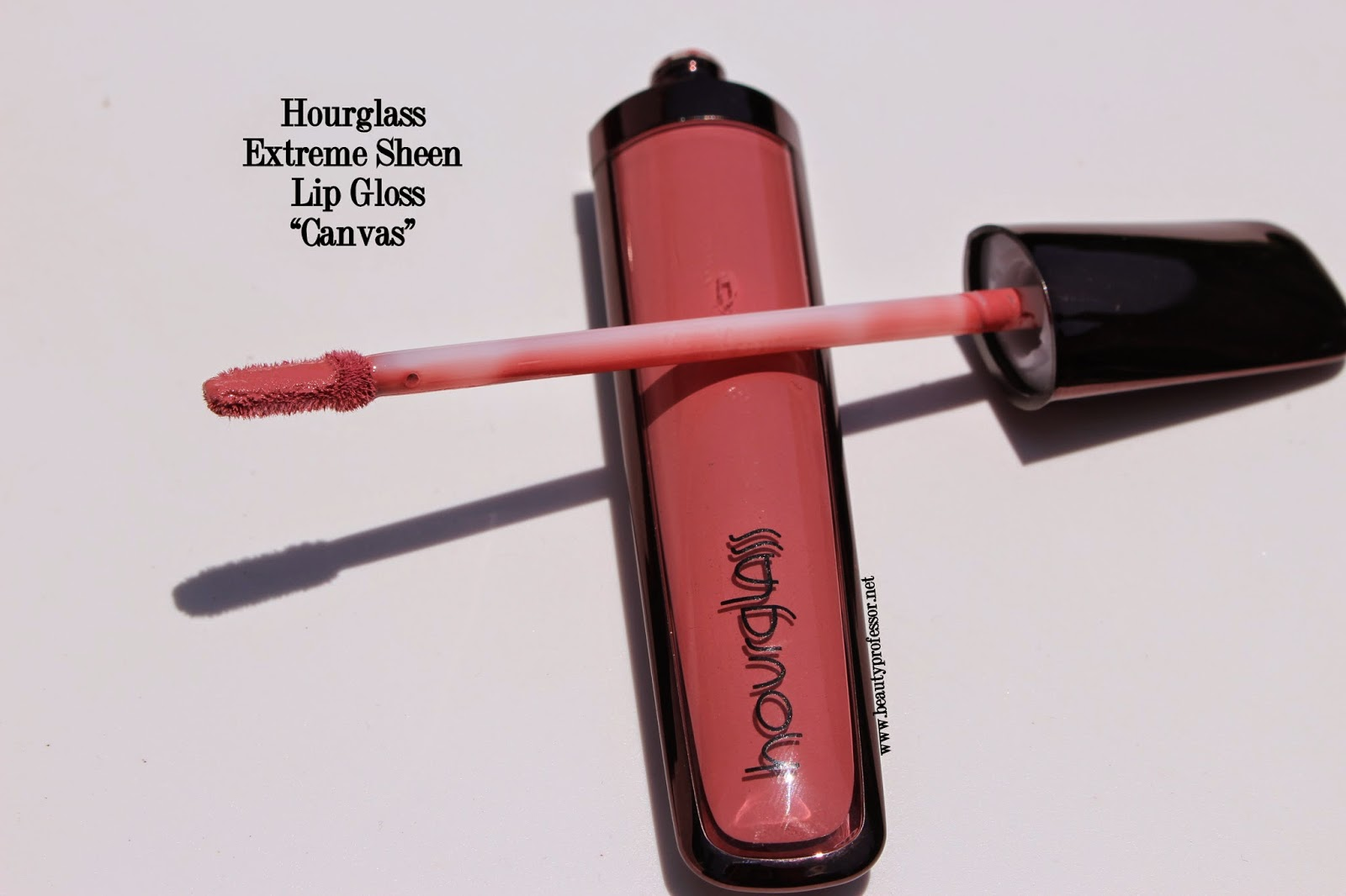 hourglass extreme sheen lip gloss canvas