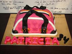 Bolo - Uma mala para a Patricia