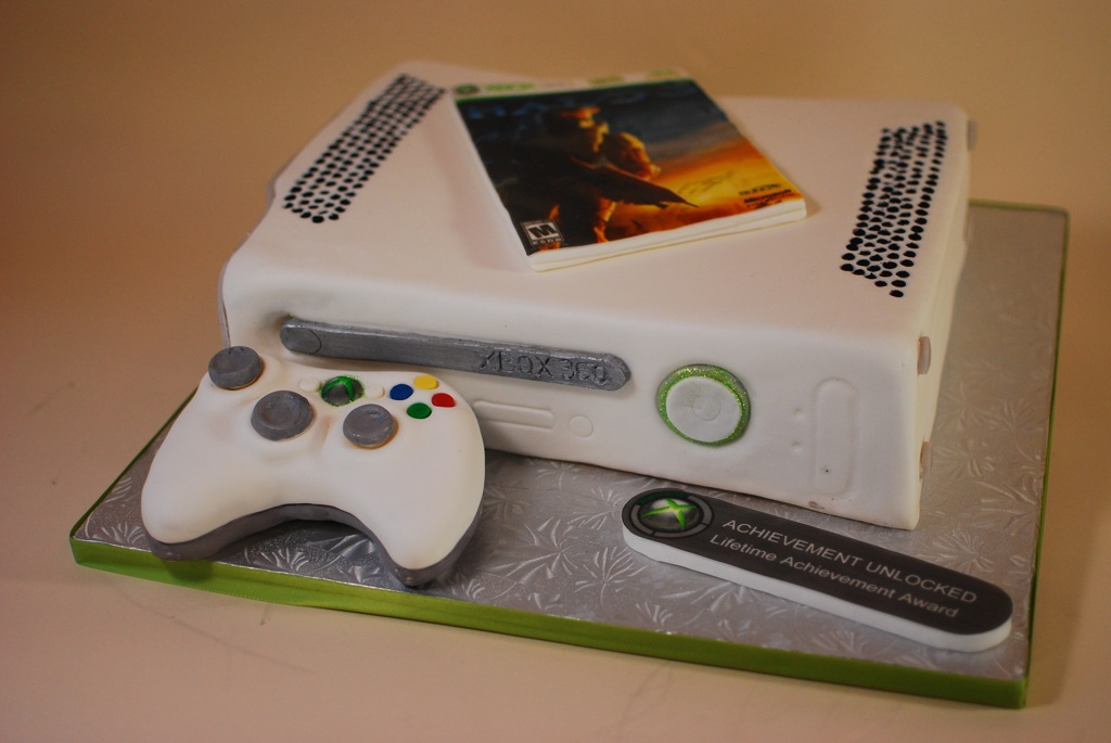 Xbox One Cake Designs : Cup a Dee Cakes Blog: XBOX 360 Groom s Cake
