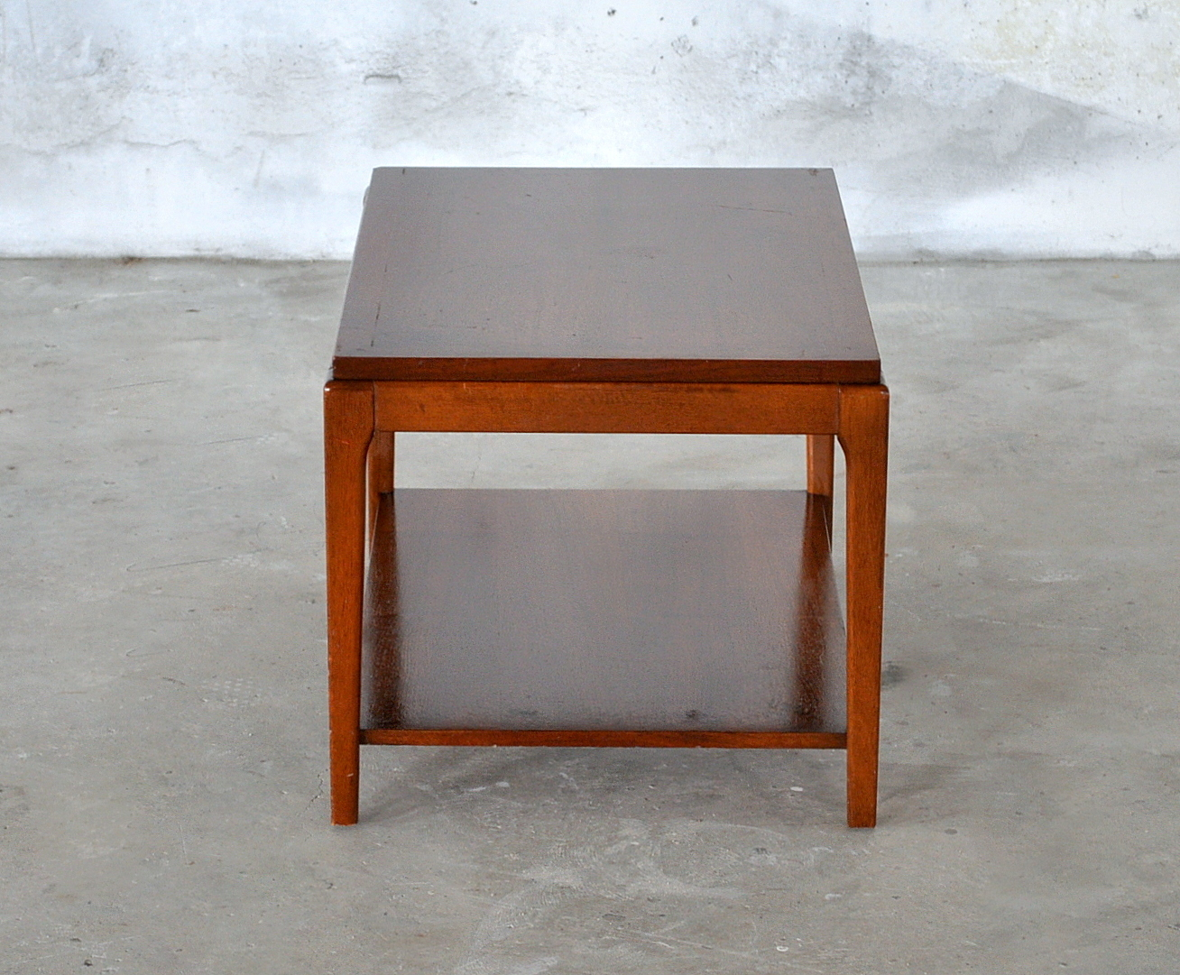 Select modern mid century modern side end table small Modern side table