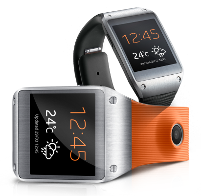 Samsung Galaxy Gear compatible with Galaxy S4, basic functions works