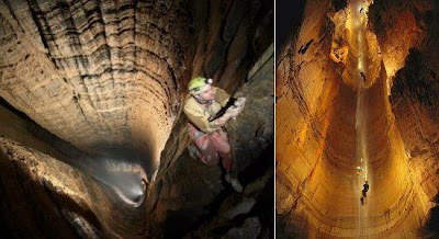 THE DEEPEST KNOWN CAVE ON EARTH