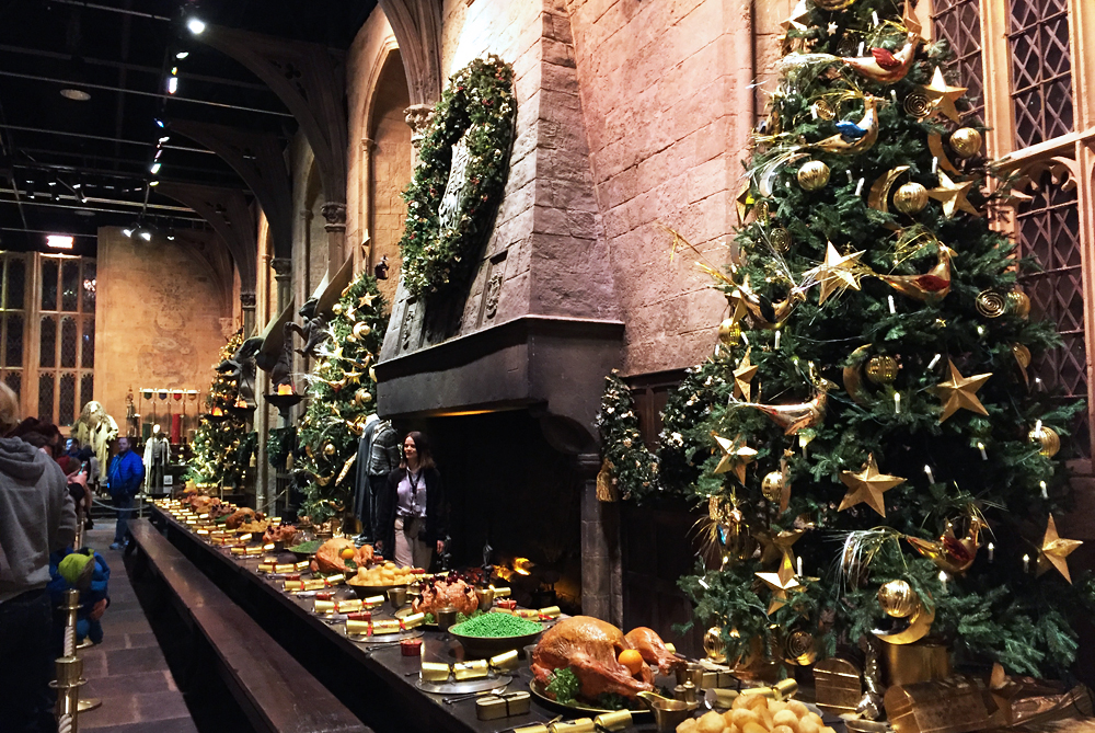 Warner Bros Studio Tour The Making of Harry Potter - Great Hall