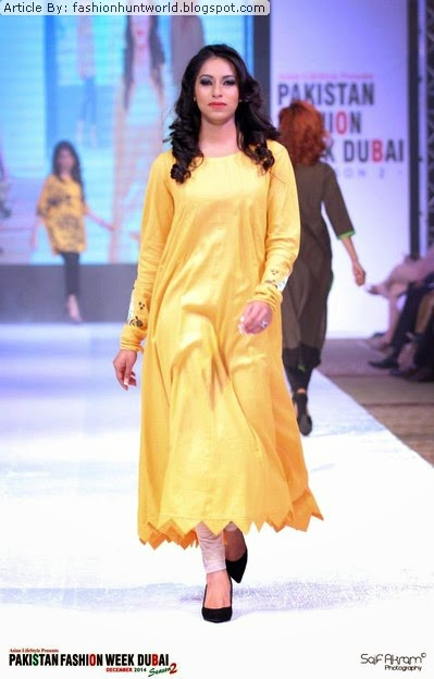 Ego Fall Winter Dresses 2015 At Pakistan Fashion Week Dubai Season 2 Fashion Hunt World