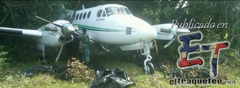 Avioneta robado en RD