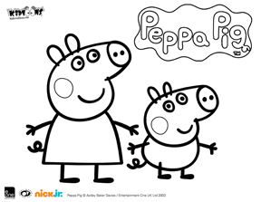 to celebrate peppa pigu002639s large screen debut weu002639d like to share some coloring pages for you to print for your children - Peppa Pig Coloring Pages Kids