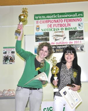 Ruth e Mary, bicampionas