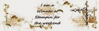Winner at Stampin for the Weekend