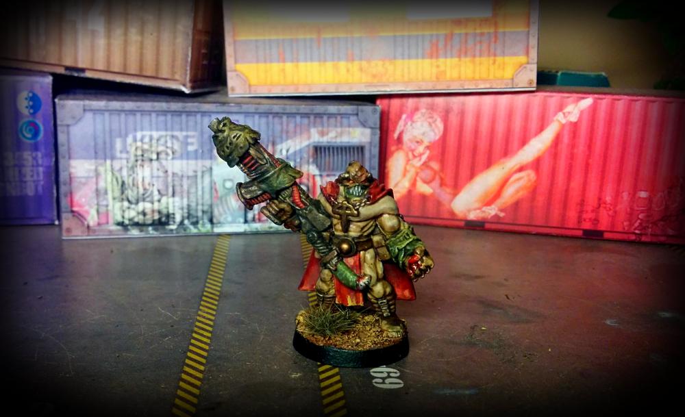 Warzone -  Dark Legion - Supreme Necromagus - front