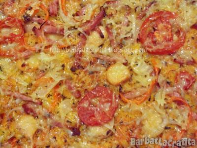 Pizza de casa reteta