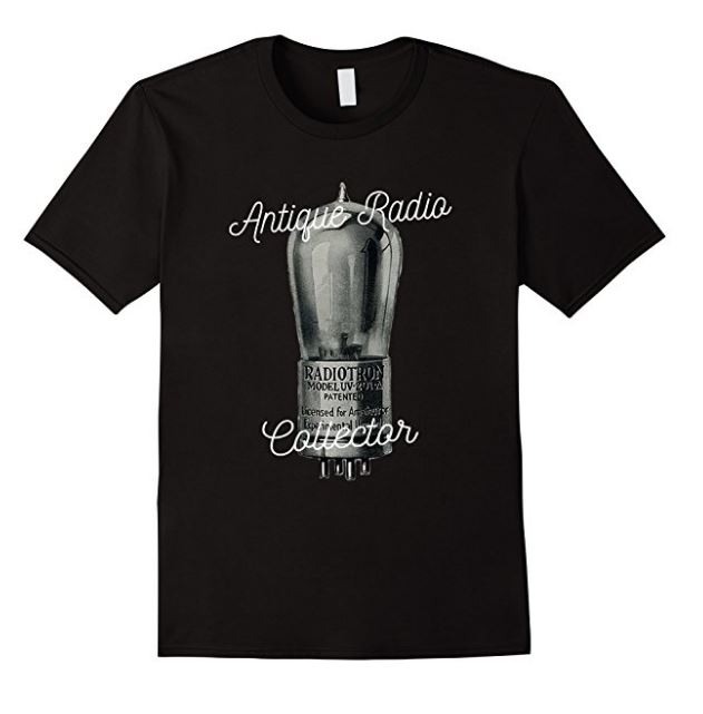 Antique Radio Collector T-Shirt