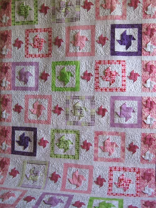 3d baby girl quilt patterns