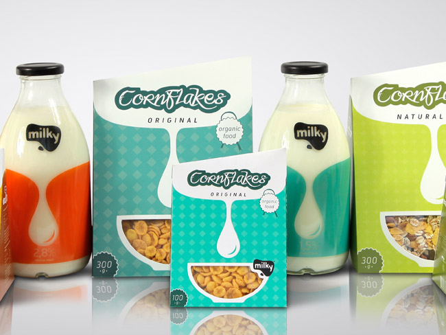 Milk & Cereal Package