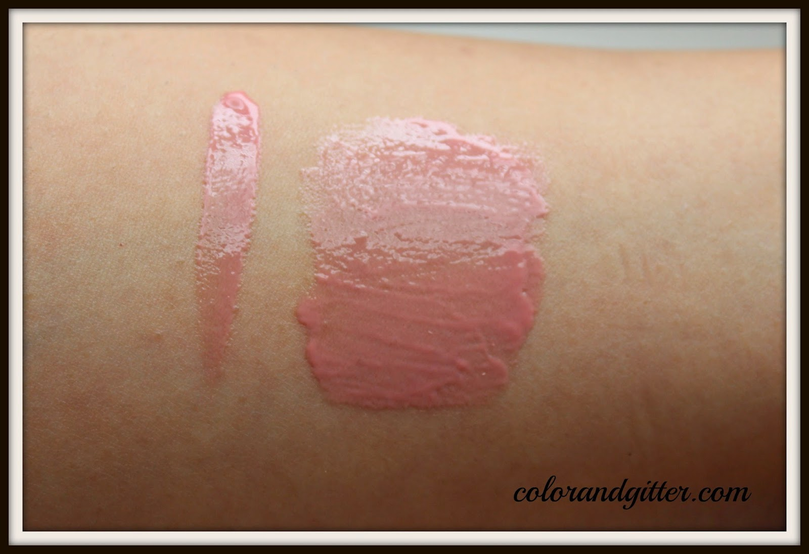 NYX Butter Gloss in Creme Brulee    Review and Swatches