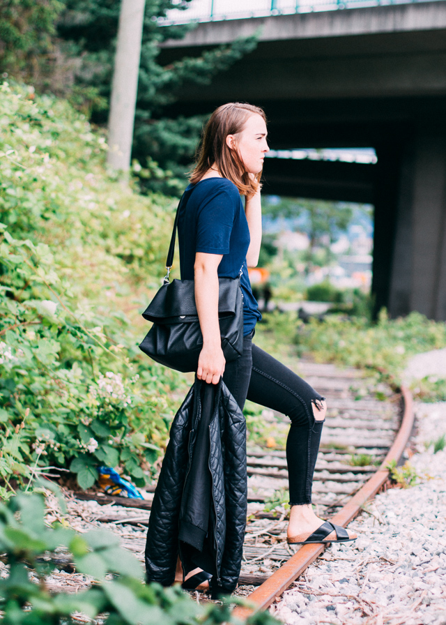 T by Alexander Wang top on In My Dreams, a Vancouver, Canada Personal Style and Fashion blog.