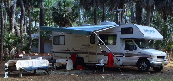 camping at Hunting Island State Park in South Carolina by DearMissMermaid.Com