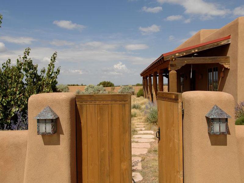 Estilo rustico entradas y accesos rusticos ii - Casas estilo rustico ...