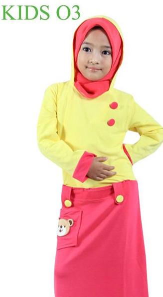 foto baju muslim anak trend tahun ini