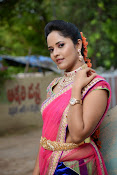 Anasuya photos in half saree-thumbnail-7