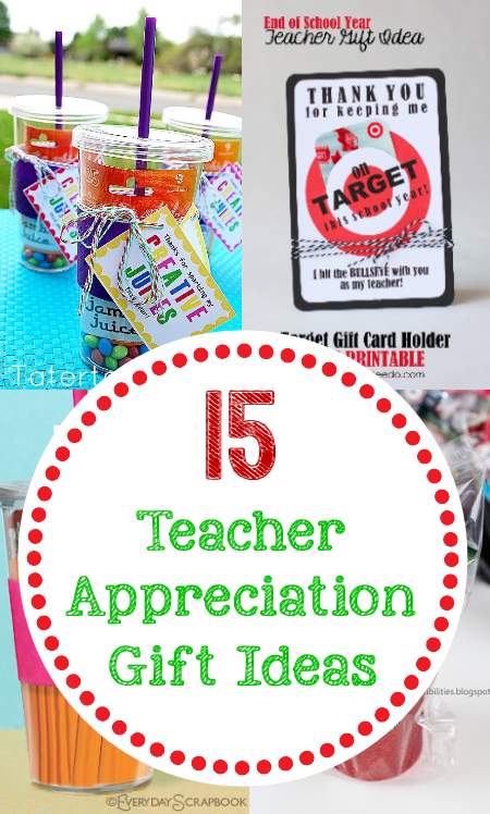 Teacher Appreciation Ideas-Gifts, Doors, Themes & More