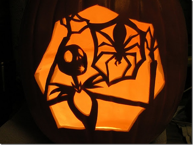 Nightmare Before Christmas Pumpkin Carving