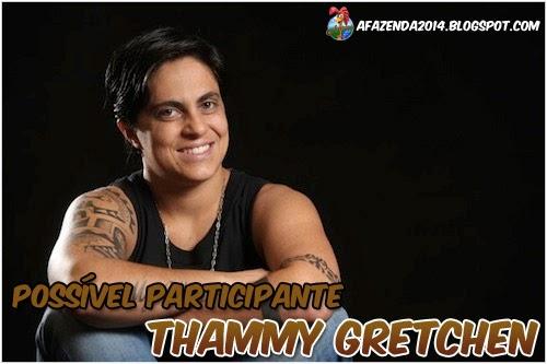 Thammy Gretchen  A Fazenda 2014