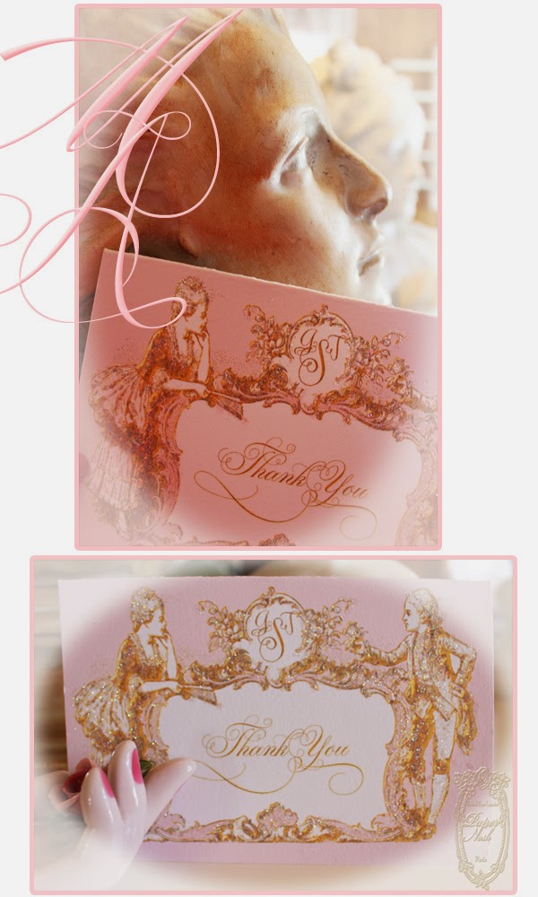la pink paperie The blog for Paper Nosh: Marie Antoinette Silhouette ...