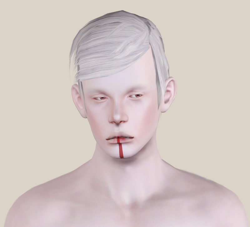 My Sims 3 Blog: Wardner Ugly Hair 01 for Males title=