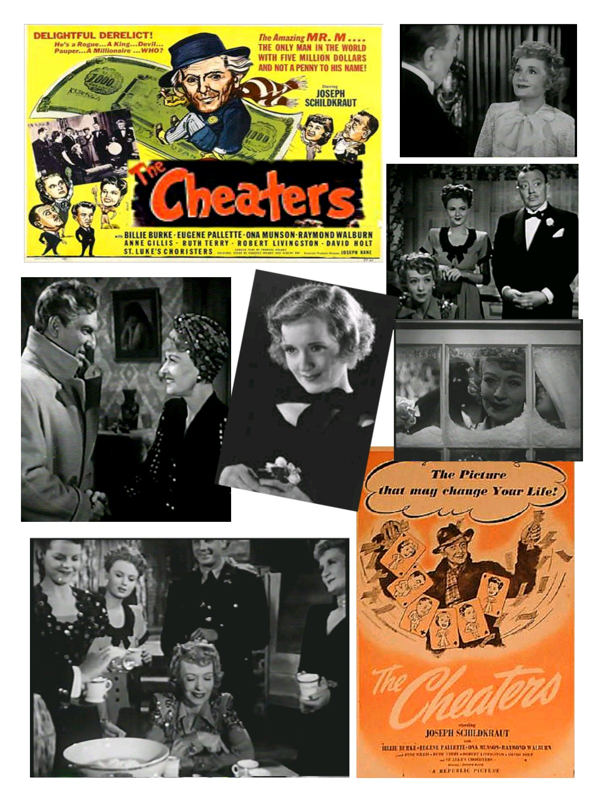 The Cheaters (1945) Billie Burke + Billie Burke Radio Show