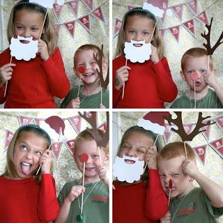 Fotos de crianças no natal