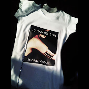 Exclusive T.shirt by Sarah Sutton.