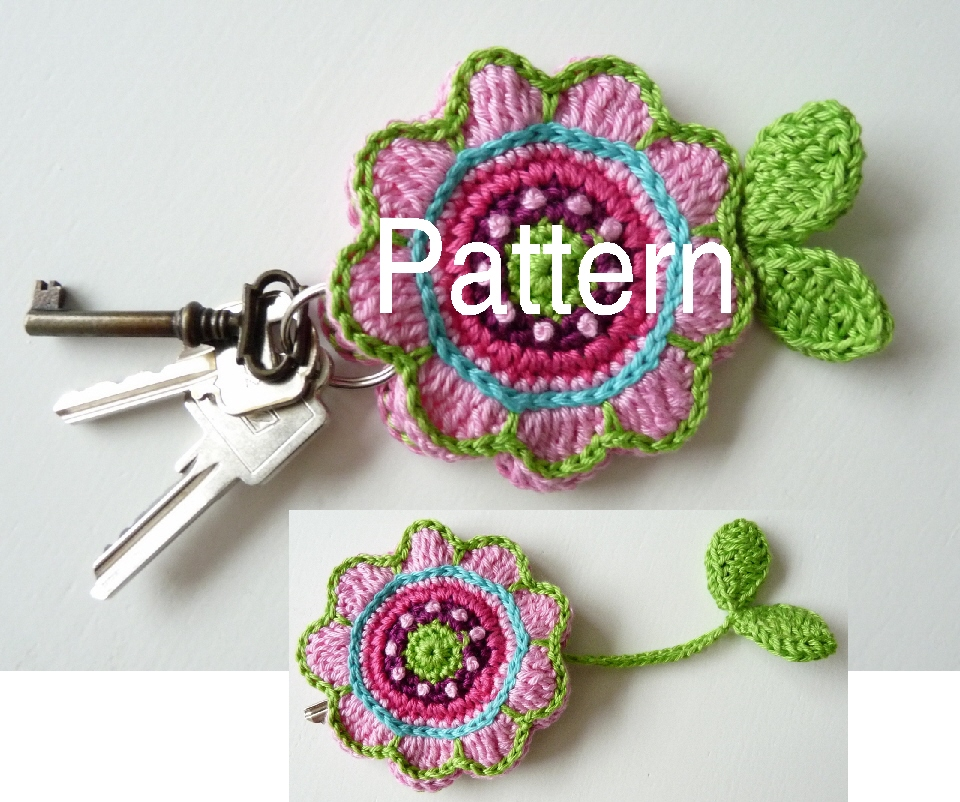 Crochet Patterns Key : ... pattern for flower key cover listing id 91958208 listing slug pattern