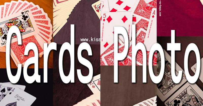 トランプの写真をKとAのそれぞれ用意:Card Photo