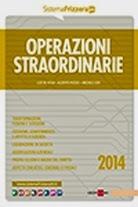 Operazioni straordinarie 2014