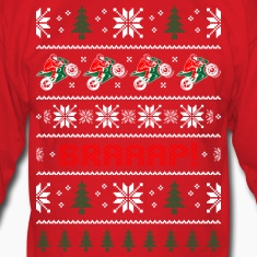 Motorcycle Helmets: Motorcycle Christmas Sweater