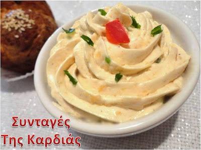 Ντιπ με cream cheese