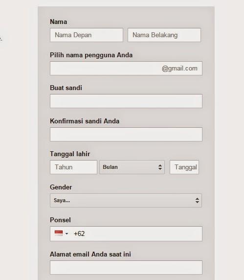 Cara Gampang Membuat Email Baru Gratis Di Google Gmail 2016 Belajar Komputer Dasar Palu