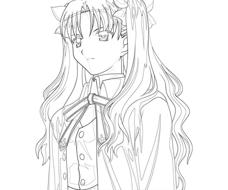 rin-tohsaka-look-coloring-pages