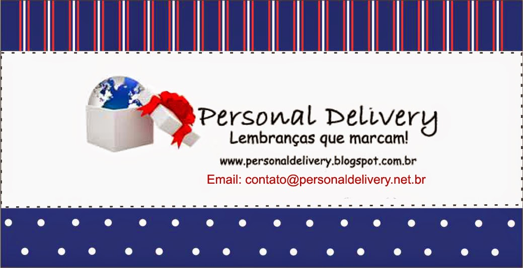 Personal Delivery Lembranças Personalizadas