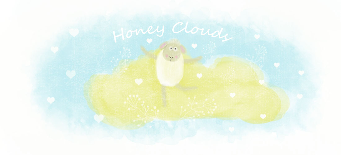Honey clouds