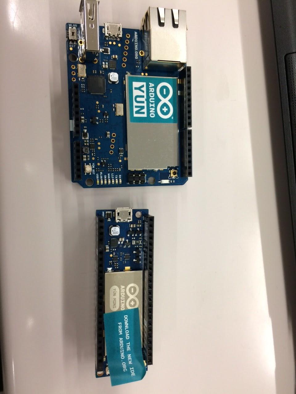 腹腹開発 arduino yun mini を初期設定してwifiルータにつなぐ