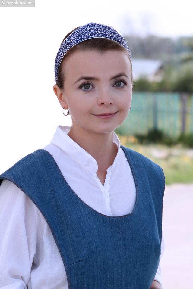 русский народный стиль в современной одежде фото